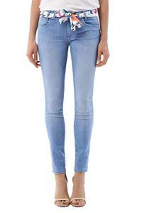 Salsa Jeans – Jean Push UP Wonder Skinny avec Mouchoir – Femme – Bleu – 30W x 30L