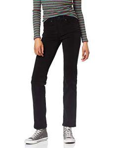Levi's 314 Shaping Straight Jean Droit, Noir (4X Stretch New Ultra Black 0063), W31/L30 Femme