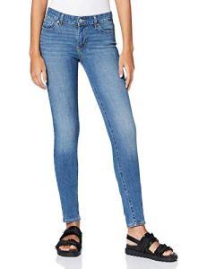 Levi's 711 Skinny – Jean pour femmes moulant et confortable – Bleu (Believe It or Not 0411),W28/L30