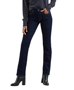 Levi's 724 High Rise Straight Jean droit, Femme, Bleu (Two The Nine 0015), W24/L30