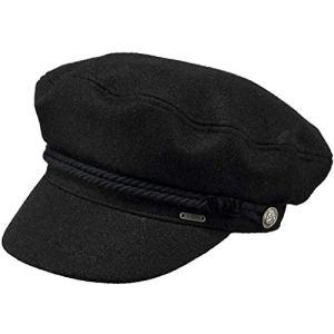 Barts Skipper Cap Béret, Noir (Black 0001), Unique (Taille Fabricant: UNI) Femme