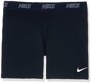 Nike W NK Short 5IN VCTY Short de Sport Femme Black/White FR : XL (Taille Fabricant : XL)