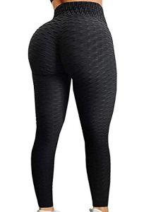 NNDUO Legging Anti-Cellulite, Pantalons de Yoga à Taille Haute pour Femme, Cellulite Anti-Cellulite Faisant Face à Un brûleur de Graisse en Cours de Conception de Collants (Noir, L)