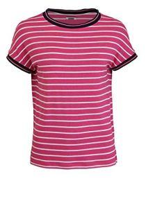 Tommy Jeans Tjw Crepe Stripe Tee Pull de Sport, Rose (Pink 0ed), XX-Small Femme