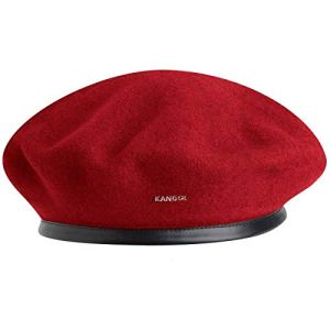 kangol Wool Monty – Béret – Mixte, Rouge (Red), X-Large