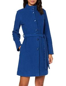 Lovable Dressing Gown Robe De Chambre, Bleu (Bluette 00r), Small (Taille Fabricant: S/M) Femme