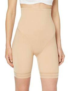 Marque Amazon – Iris & Lilly Pantalon Gainant Support Moyen Femme, Beige (Nude), M, Label: M