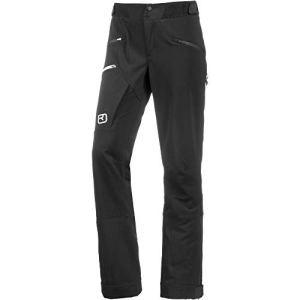 ORTOVOX Mèdola Pants W Pantalon Femme, Noir de Jais, L