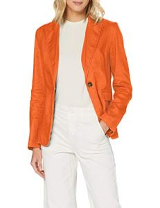 United Colors of Benetton (Z6ERJ) Giacca Jacket, Harvest Pumpkin 1c0, 40 Femme