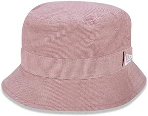New Era WMNS Pastel Cord Bucket Ne Bsk Casquette Mixte, Rose, XL