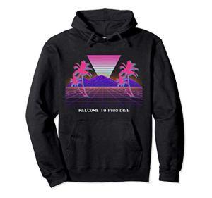 Retro Vaporwave 80 90s Esthétique Sweat à Capuche