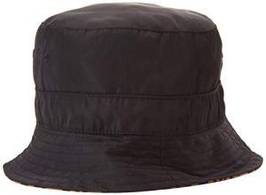 Superdry Nylon Reversible Bucket Hat Bob, Noir (Black Léopard Ntm), OS (Taille Fabricant:OS) Femme
