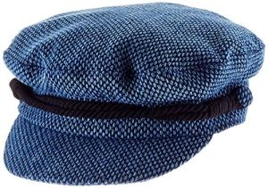 Tommy Hilfiger Baker Tweed Hat Bob, Bleu (Tommy Navy 0gy), Unique (Taille Fabricant: OS) Femme
