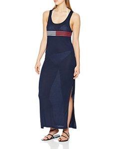 Tommy Hilfiger Tank Dress Paréo, Bleu (Navy Blazer 416), 38 (Taille Fabricant: Small) Femme