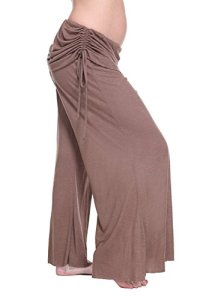 Belly Bandit–Pantalon Femme en Bambou et en Spandex XS/S Marron (Brown)