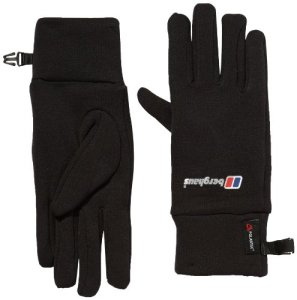 Berghaus Gants Power Stretch Au, Mixte, Handschuh 6 Pack Powerstretch Au, noir, L/XL