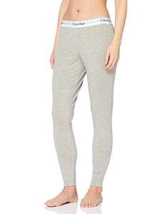 Calvin Klein Underwear – Bas De Pyjama – Uni – Femme – Gris (Grey Heather) – Fr: 38 (Taille Fabricant: M)