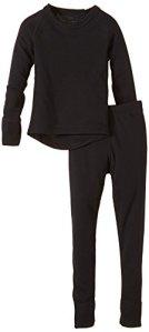 CMP ensemble de sous-vêtements thermiques, Noir – noir, 104 cm – 3Y84800