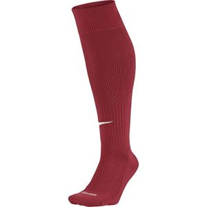 Nike Academy – Knee High Classic Football Dri Fit – Chaussettes de football – Mixte adulte – Multicolore (Varsity Red/White) – XS (Taille fabricant: 30-34)