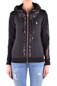 Philipp Plein Femme Wjb0318pjo002n02 Noir Coton Sweatshirt