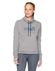 Under Armour Women's Tech Terry Graphic Funnel Neck Sweatshirt