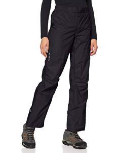 VAUDE Drop II Pantalon pour Femme, Femme, Pantalon, 04966, Noir uni, 34-Long