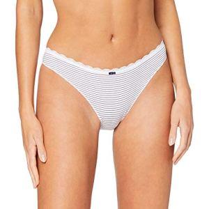 women'secret Femme Pantalon en Coton Classique Not Applicable, Bleu Moyen, S