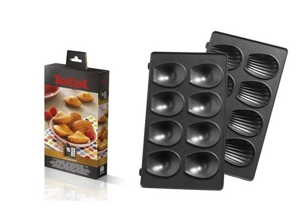 Coffret plaques mini madeleine pour snack collection Tefal