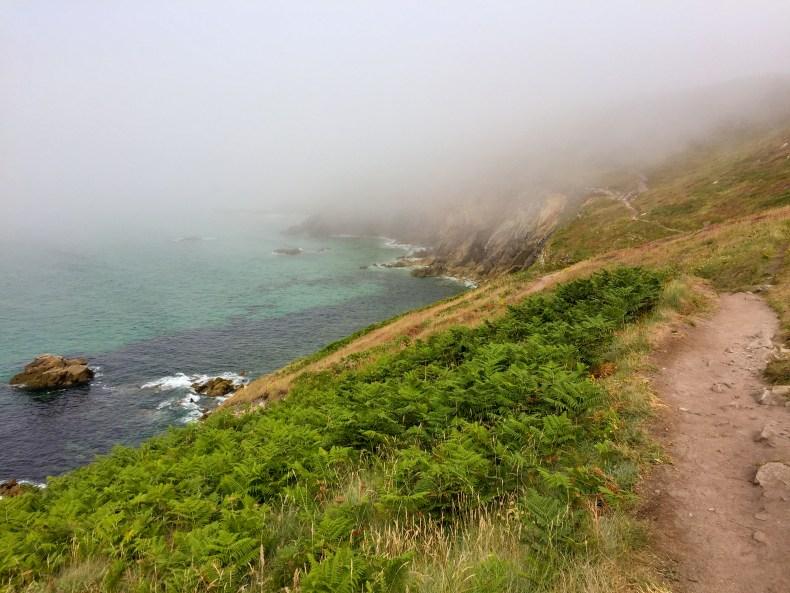 Baie des trépassés à la pointe du Raz - Finistère sud