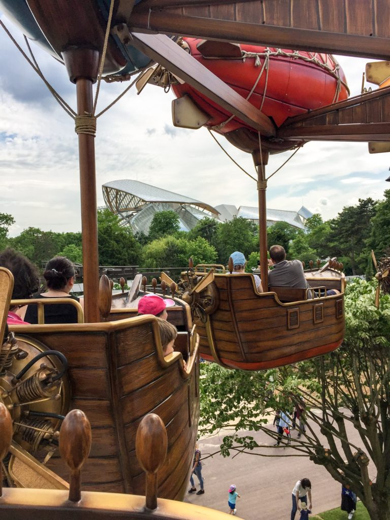 Jardin Acclimatation Paris Neuilly sur seine Parc Attractions fondation louis vuitton