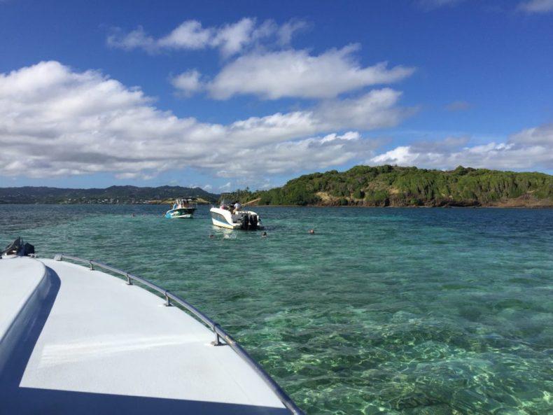 Captain Roro bateau journée iguane martinique baignoire de joséphine