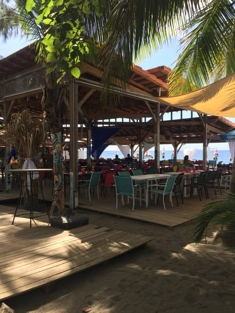 Le Petibonum Le Carbet Martinique Restaurant Bar de plage privée
