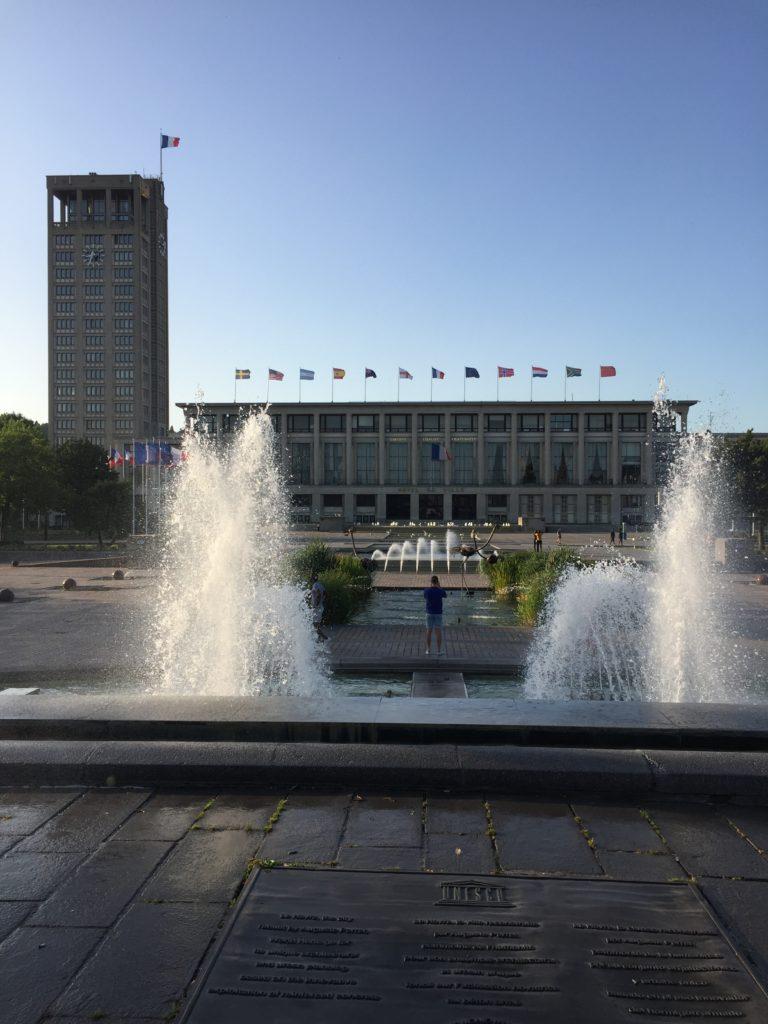 Place Hotel de Ville Le Havre