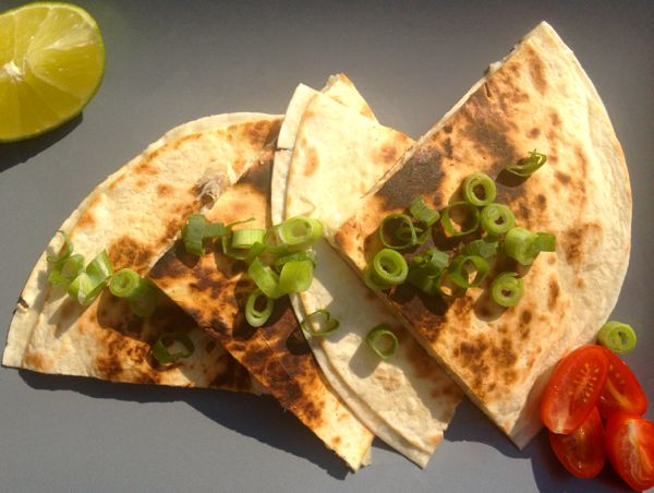 Peri Peri Salt Fish Quesadillas