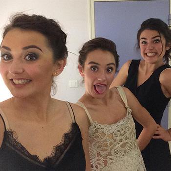 Margot, Léoena & Iris