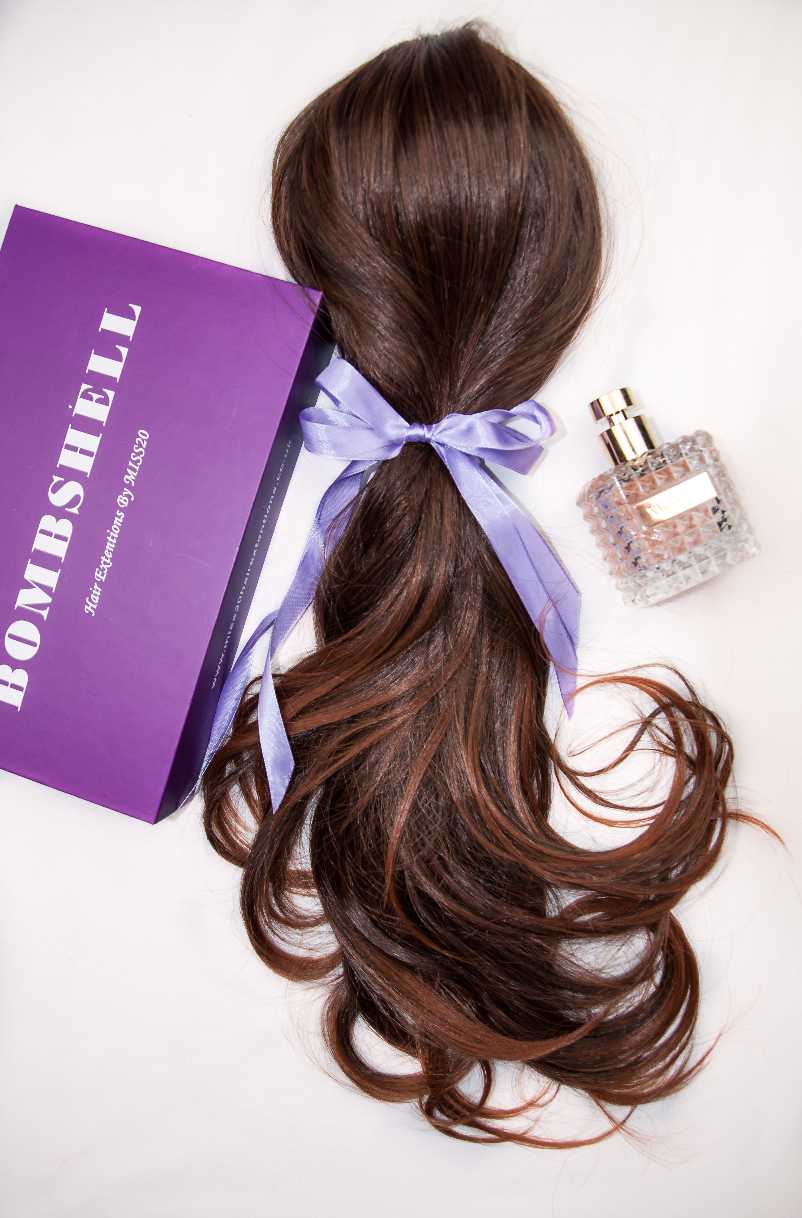 24 Super Thick 2 Pieces Ombre Wavy Clip In Hair Extensions