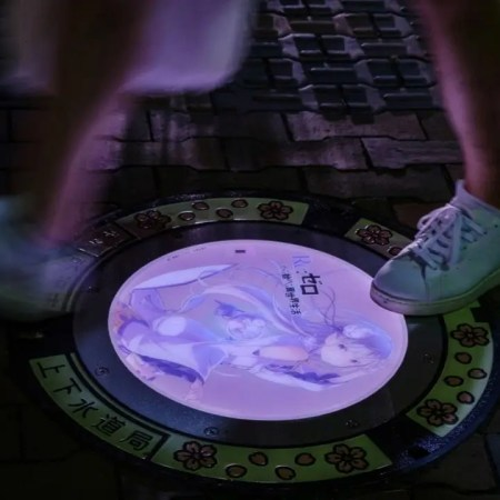 Japan Introduces Glow-in-the-Dark Manhole Covers