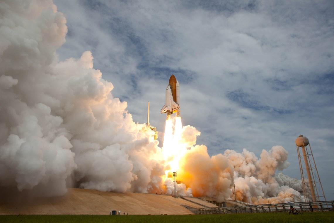 STS-135 Atlantis Launch (July 8, 2011) Photo Credit: (NASA/Bill Ingalls)