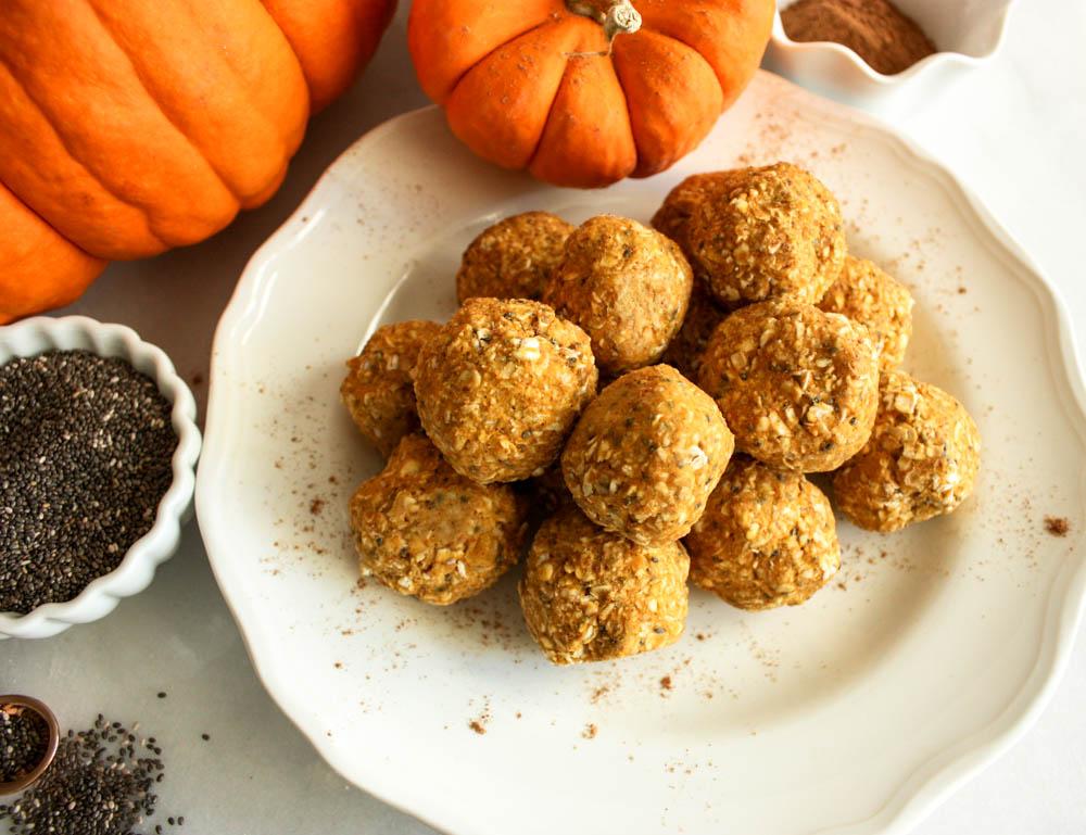 Pumpkin Spice Power Balls