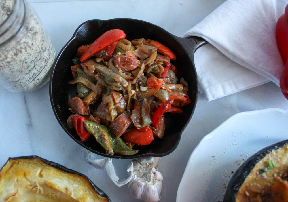 Easy Sausage and Peppers