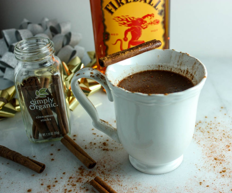 Cinnamon Infused Hot Chocolate