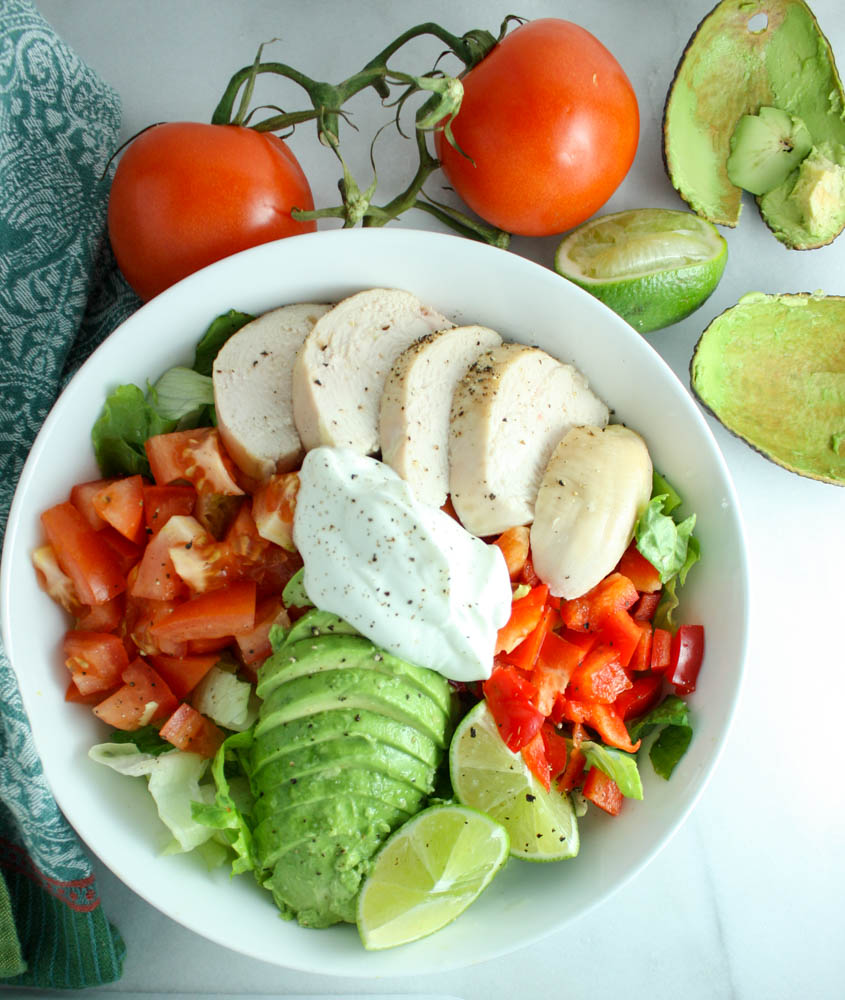 Easy Tex Mex Salad
