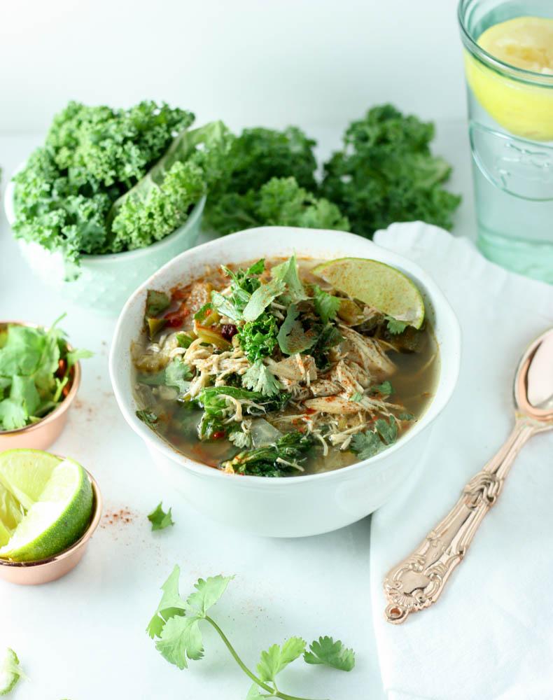 Beanless White Kale Chili