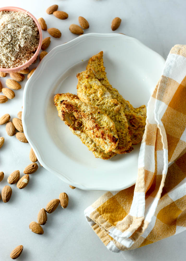 Whole30 Almond Crusted Chicken