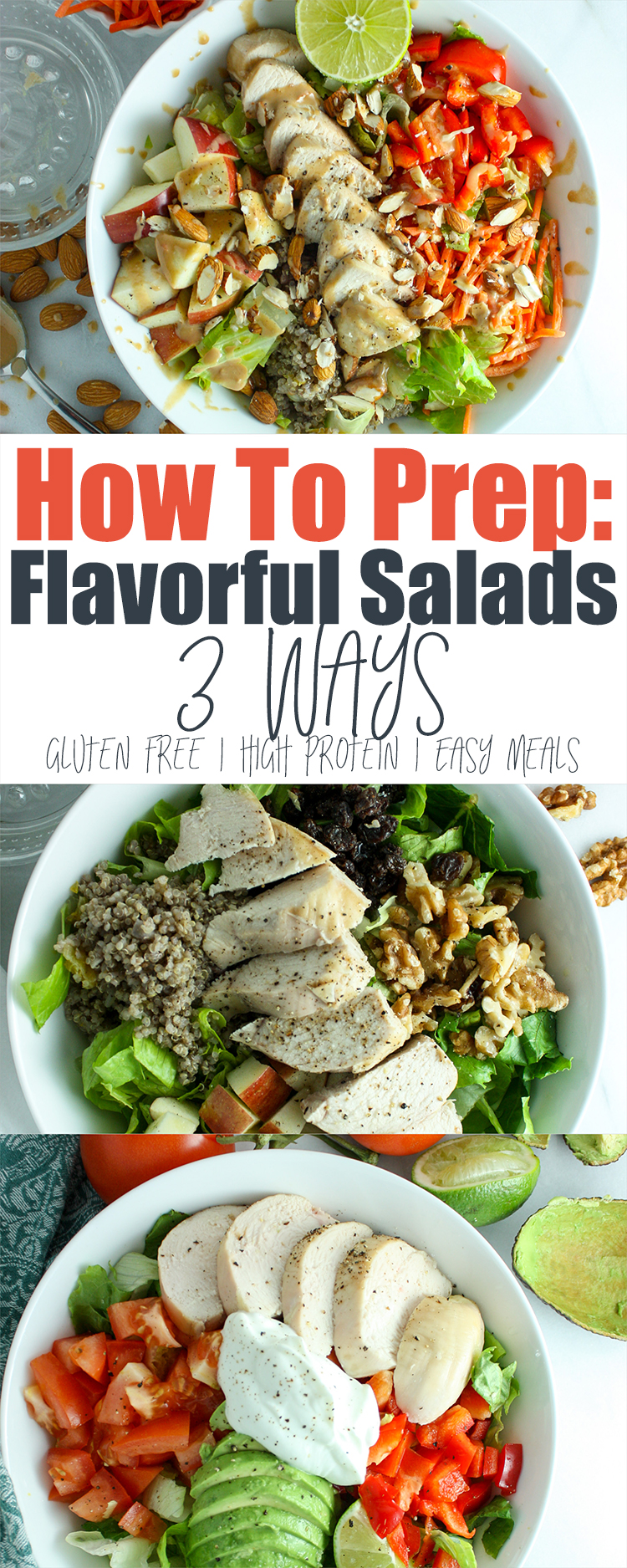 How To Prep Flavorful Salads 3 Ways
