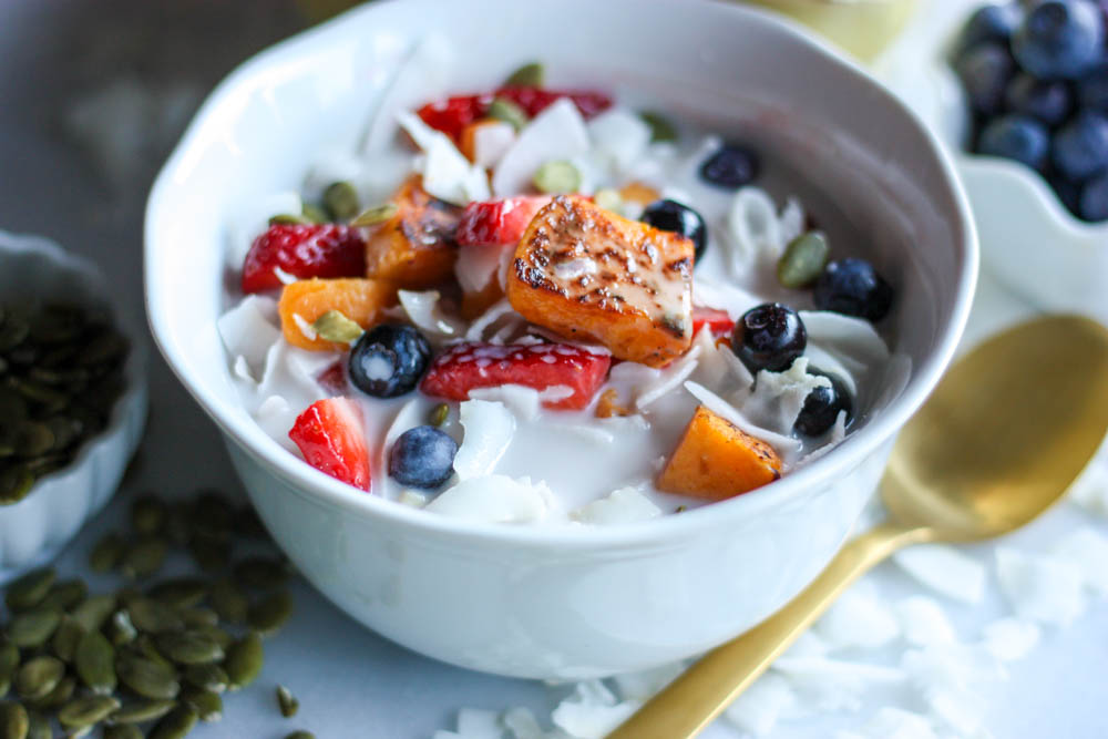 Sweet Potato And Berry Cereal