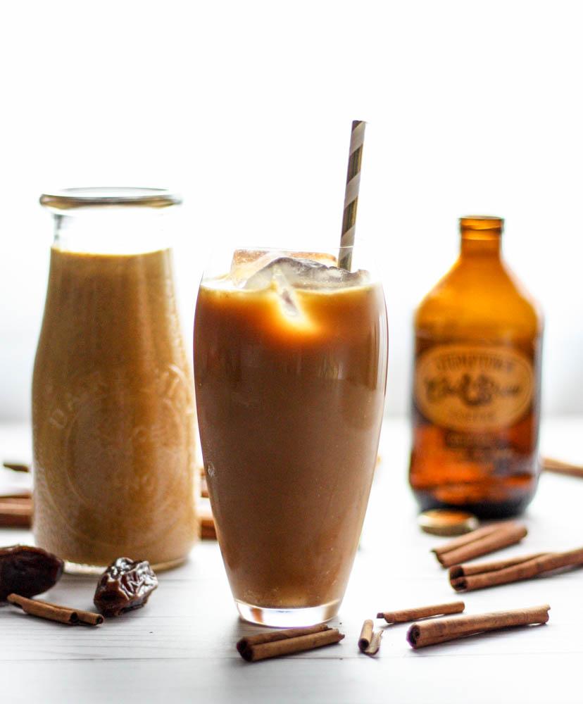 Paleo Iced Pumpkin Spice Latte