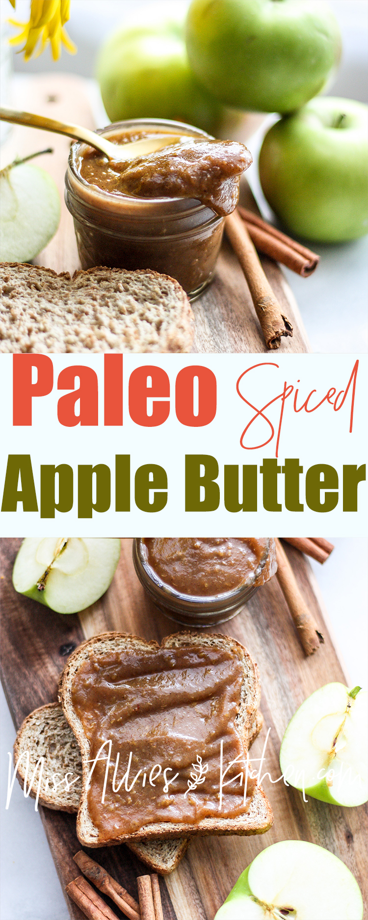 Paleo Spiced Apple Butter - naturally sweet and oh-so delicious!