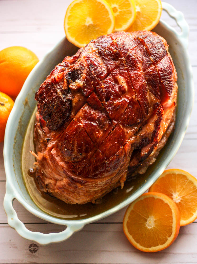 Paleo Glazed Orange & Honey Ham