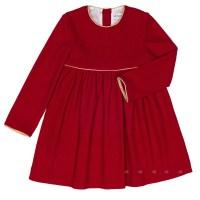 Girls Red Jersey Dress   Missbaby